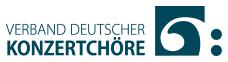 Wir sind Mitglied im Verband Deutscher Konzertchöre